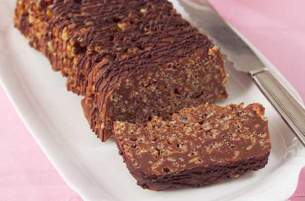 Chocolate Rice Krispie Cake Recipe Goodtoknow