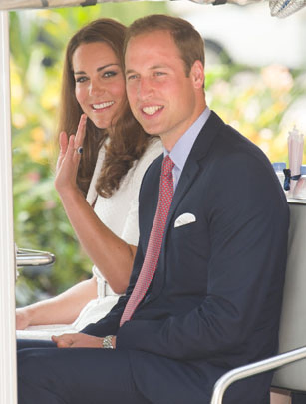 Kate and Will's Diamond Jubilee Tour