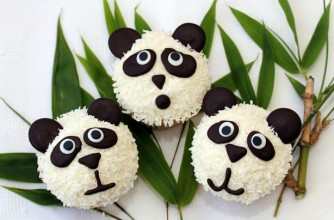 Panda cupcakes