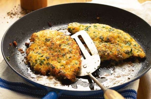 Chicken and lemon escalopes