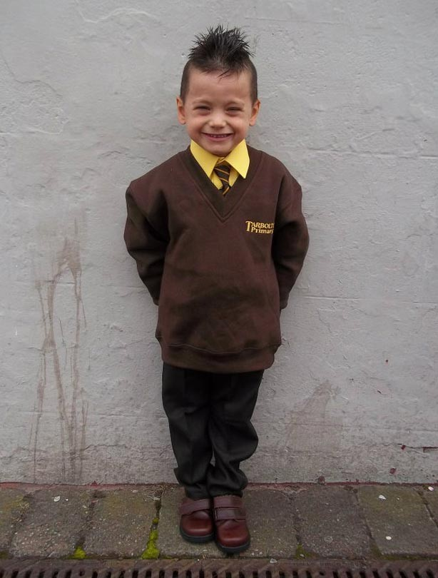 Connor's first day at school