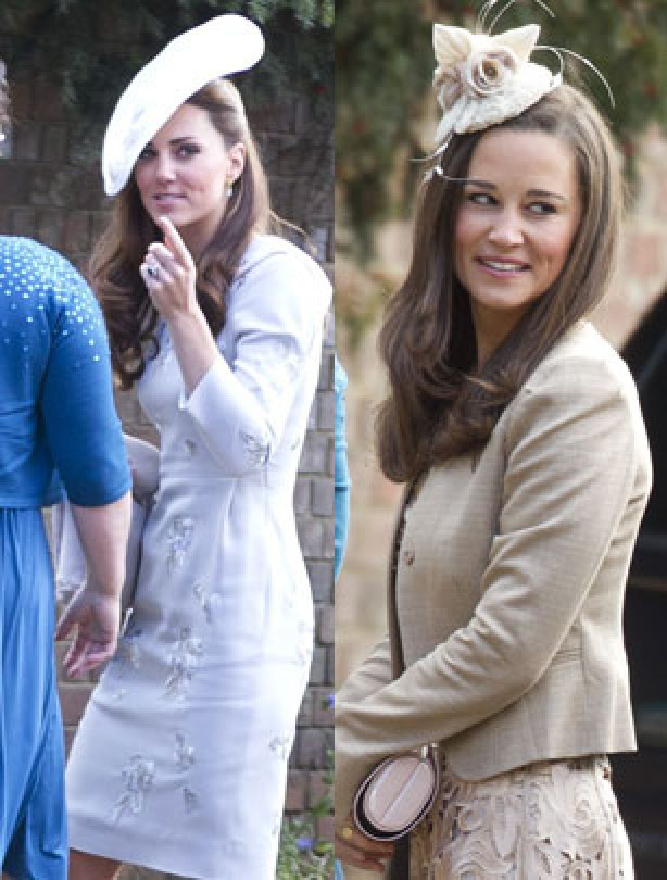 Kate and Pippa 2012