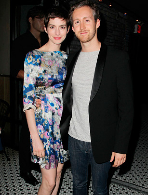 Celebrity weddings: Anne Hathaway and Adam Shulman
