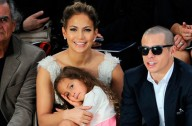 Jennifer Lopez with her daughter, Emme