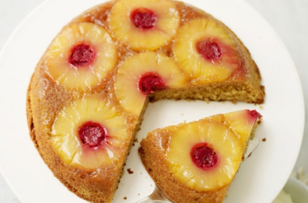 lorraine pascale upside down cake