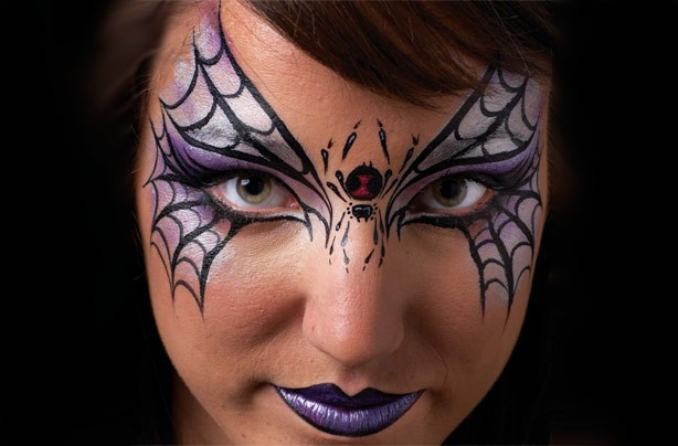 Spider mask face paint - goodtoknow