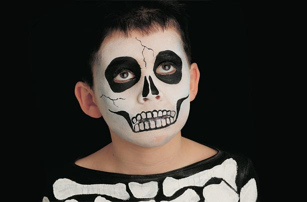 Ideas for face painting halloween