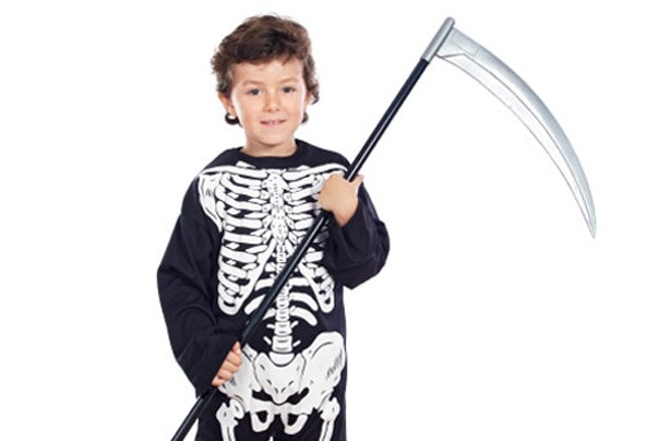 Make your own Halloween costumes: Skeleton costume