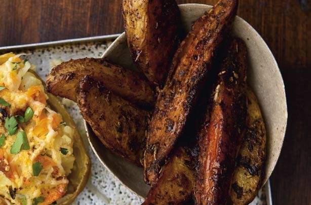 Cajun spiced wedges