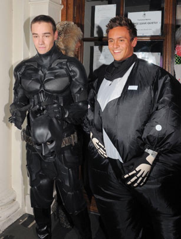 Liam Payne and Tom Daley Halloween 2012