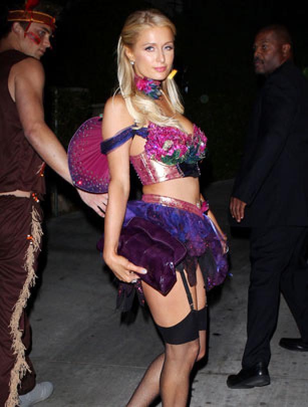 Paris Hilton Halloween 2012
