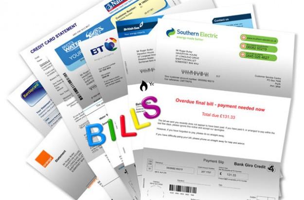 Average household bills