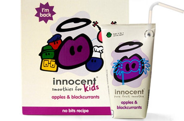 Innocent kids' fruit drinks