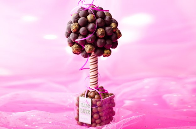 Nothing shows you care quite like a hand-baked gift. This truffle tree will be a delight to anyone young or old. It takes a bit of effort, but it is really worth it.