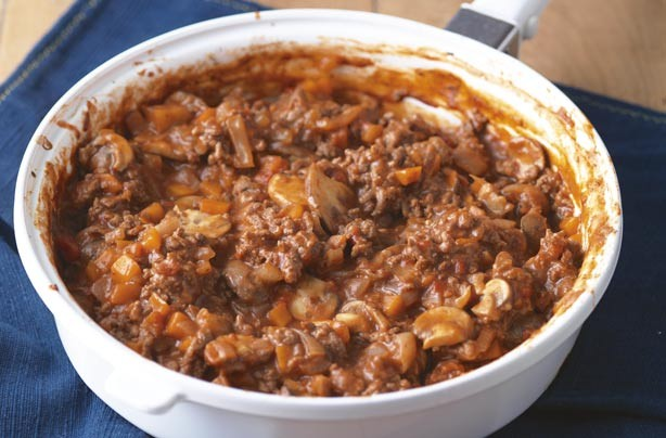 Here's our guide to the best classic savoury beef mince. It is so versatile, you can use it to make other dishes like cottage pie and chilli con carne. Make a big batch and it can freeze up to 3 months.