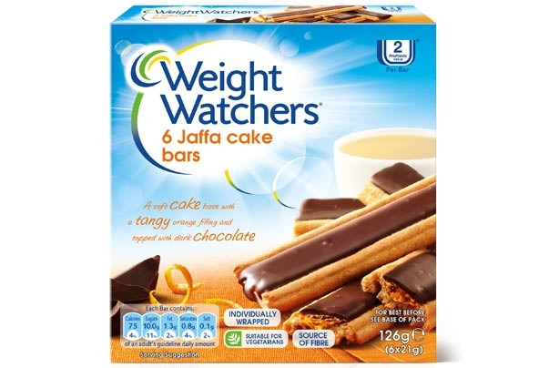 Weight Watchers Jaffa Cake Bars