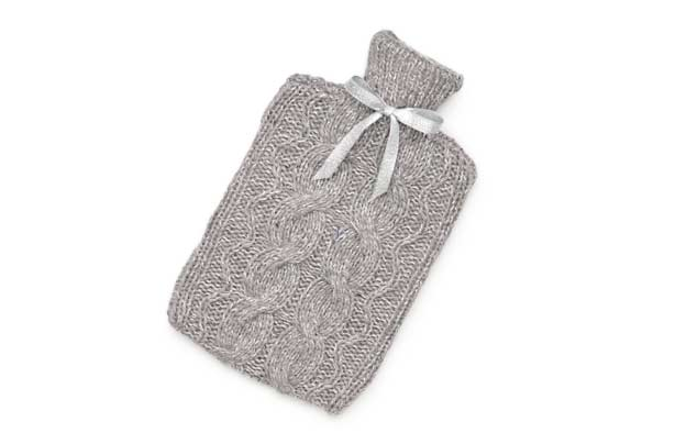 Knitting Pattern Hot Water Bottle Cover Free : Knitted hot water bottle cover: hot water bottle knitting pattern - goodtoknow