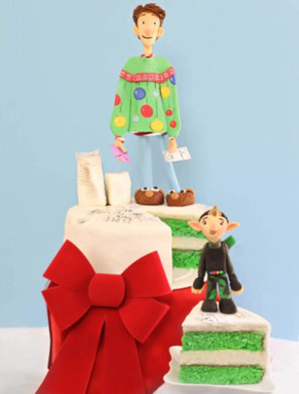 Christmas Cake Decorating Step By Step : How to make an Arthur Christmas cake - goodtoknow