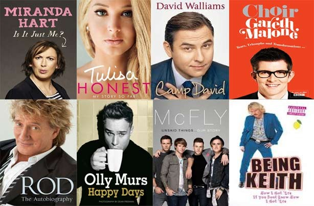 Some of our favourite autobiographies 2012