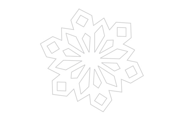 How To Make Paper Snowflakes Get Our Free Templates  Goodtoknow