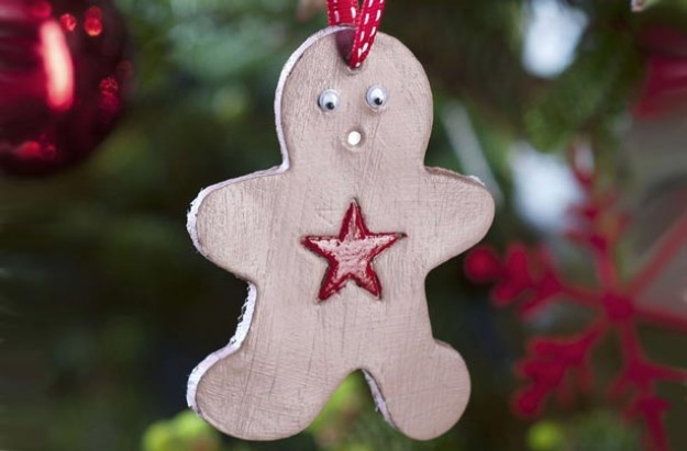 Gingerbread clay decoration