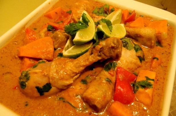 Anna Hales' African style chicken stew