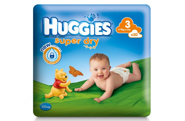 Huggies super dry nappies