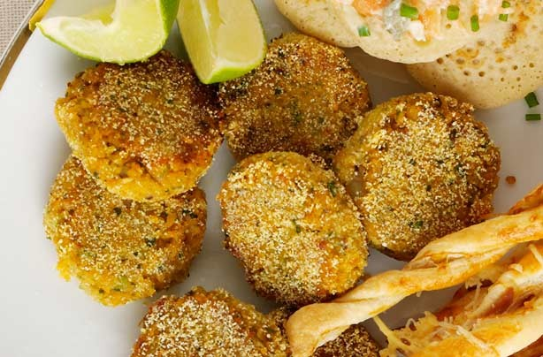 Moroccan chickpea cakes