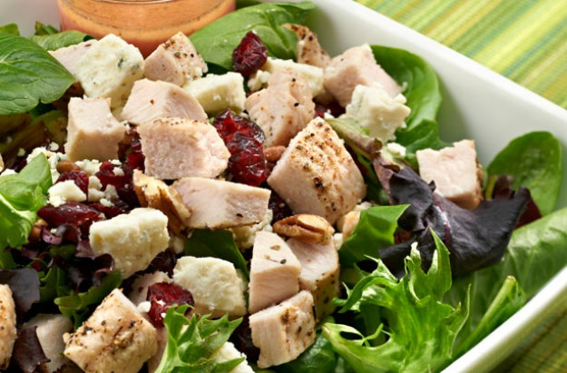Boxing Day turkey salad