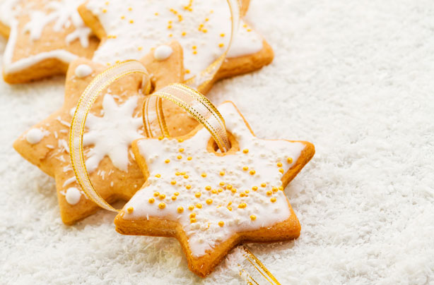 Christmas Star Biscuits Recipe Goodtoknow
