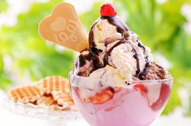 Loving spoonful sundae