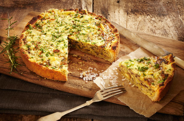 Vegetable quiche recipe - goodtoknow