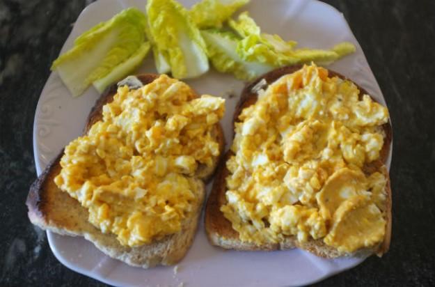 Spicy egg mayonnaise