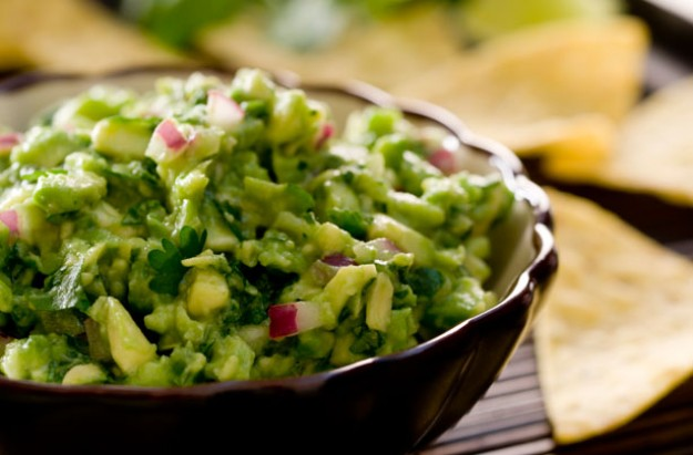 Hot and spicy guacamole