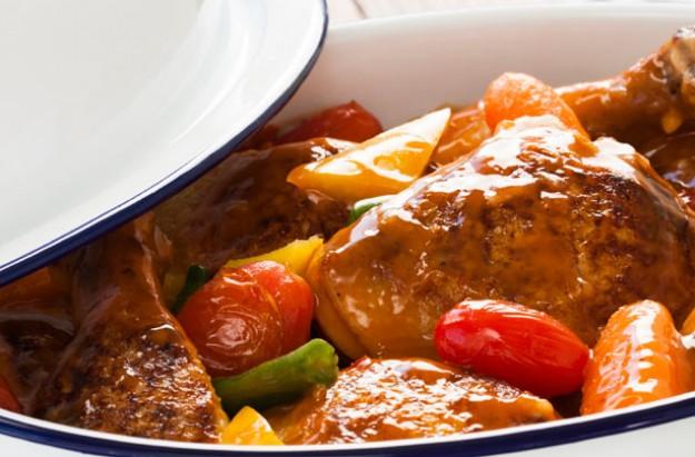 Paprika chicken casserole