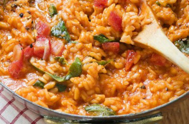 Sundried tomato and basil risotto recipe - goodtoknow