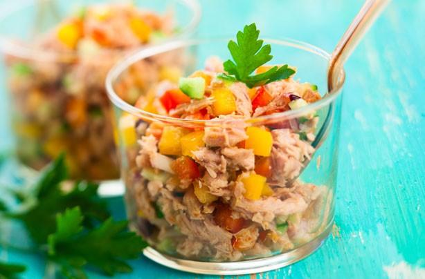 Crunchy tuna filler