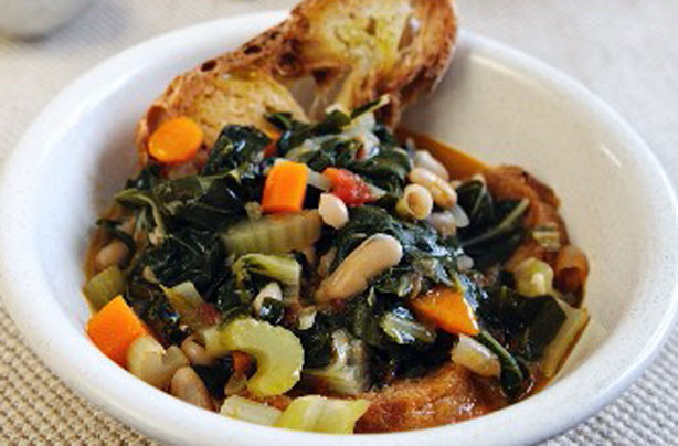 Italian cabbage and white bean stew recipe - goodtoknow