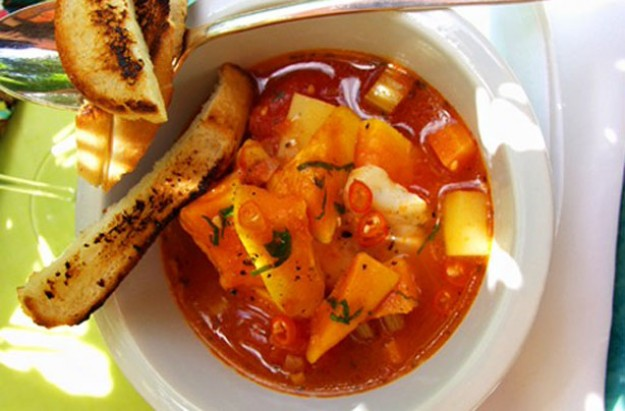 Spicy Creole style fish stew recipe