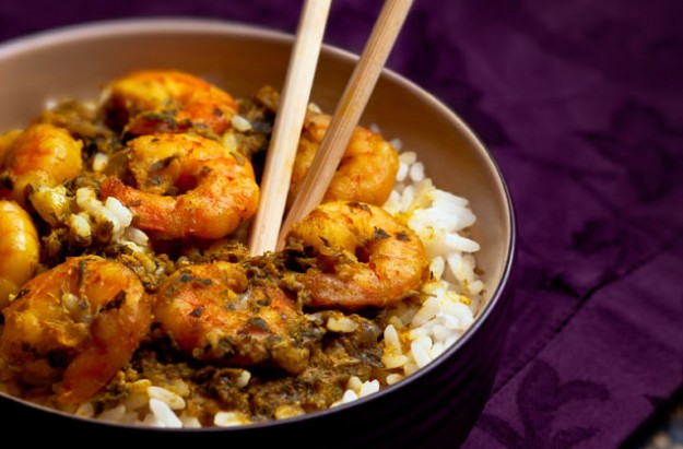 Chinese prawn curry recipe