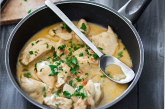 Creamy coconut chicken curry recipe