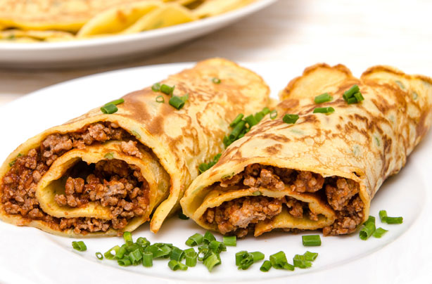 Beef and horseradish pancake rolls recipe - goodtoknow