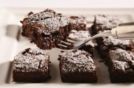 Chocolate and cranberry brownies