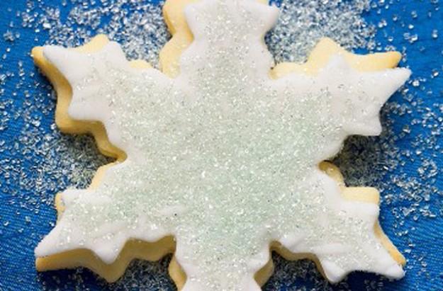 Vanilla star biscuits
