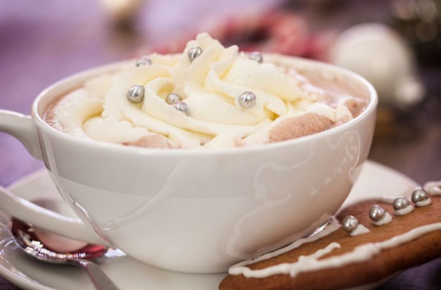 Christmas hot chocolate recipe