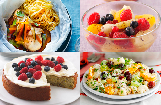 Healthy recipes to help you shape up for spring