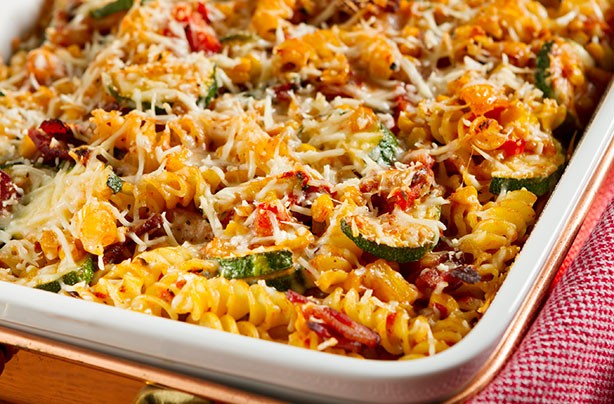 16. Baked Vegetable Pasta