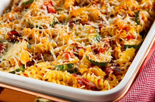 Baked Vegetable Pasta
