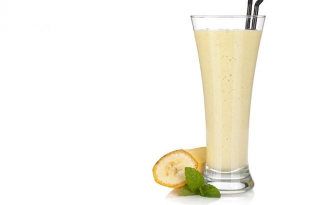Banana and rosehip Breakfast Drink