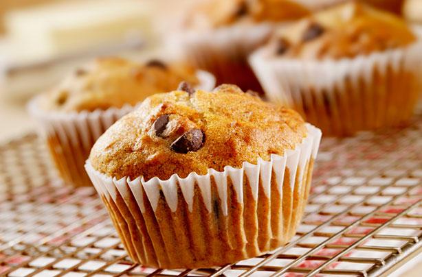 Orange Chocolate Chip Muffins Healthy
